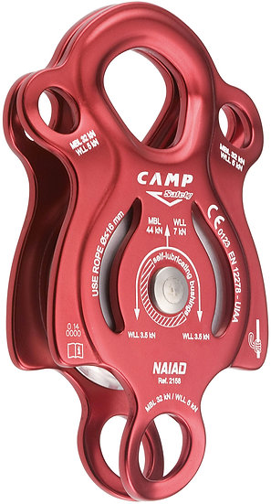 CAMP SAFETY - POULIE NAIAD - CA 2158