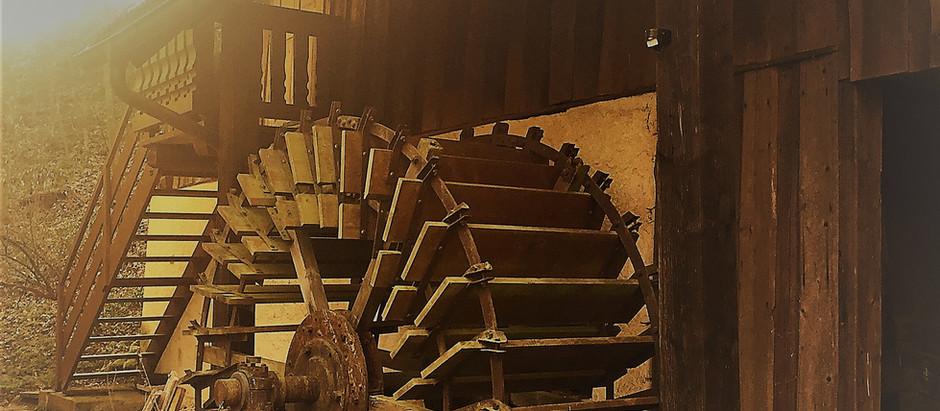 Mühlen waren schon immer Orte der Transformation ...