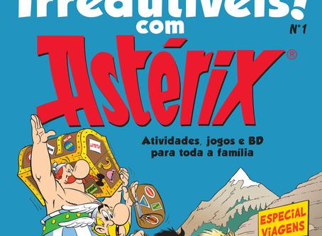 Grátis! A revista Astérix para descarregar.