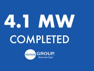 4.1 MW Project is Completed in Nemyryntsi, Khmelnytsky Region, Ukraine