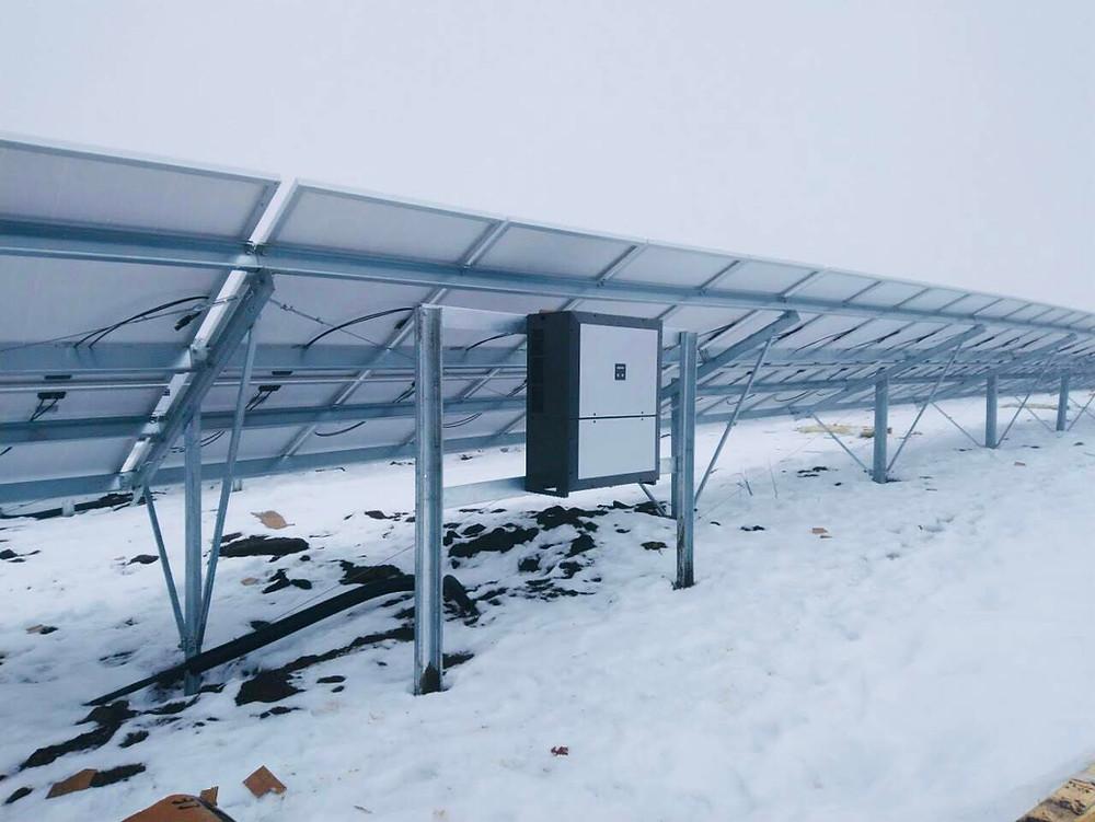 Сонячна електростанція спроектована та збудована Вольтаж Груп