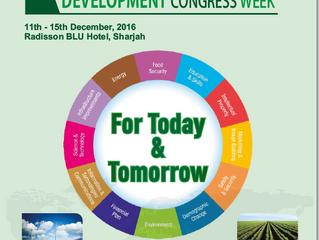 Sustainable Development Congress Week