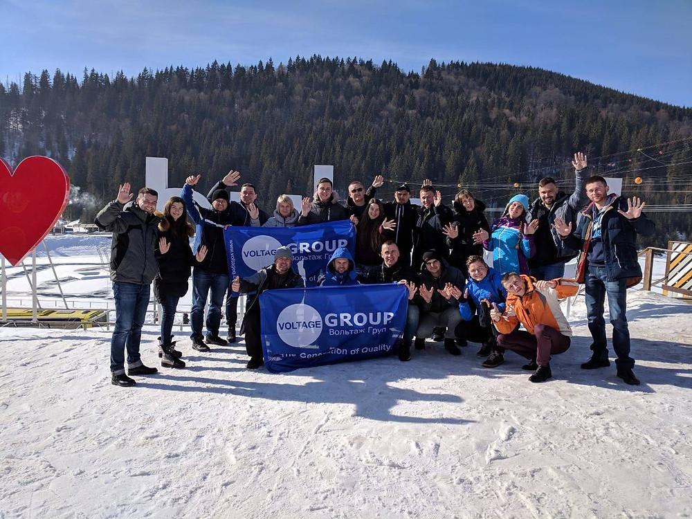 Bukovel Trip 2019, Voltage Group Team