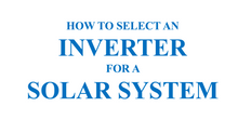Inverter Basics and Selecting the Right Model