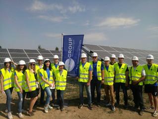 Головний офіс компанії здійснив робочу поїздку на будівництво сонячної електростанції в смт. Тиврів