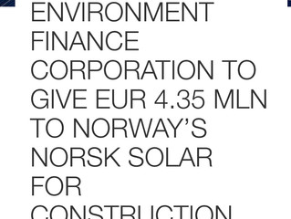 Voltage Group will design and build solar power plant for Norsk Solar near Kyiv in Ukraine