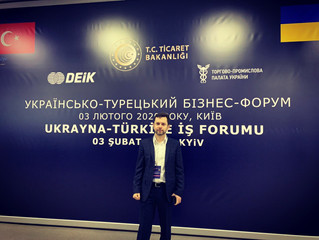 Voltage Group CEO Vitalii Nikolaienko participated in the Ukrainian-Turkish Business Forum