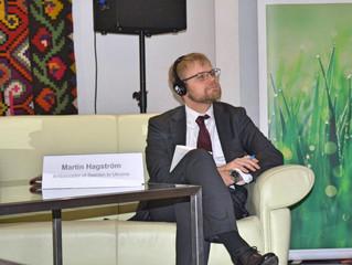Swedish-Ukrainian CleanTech Forum in Vinnytsia