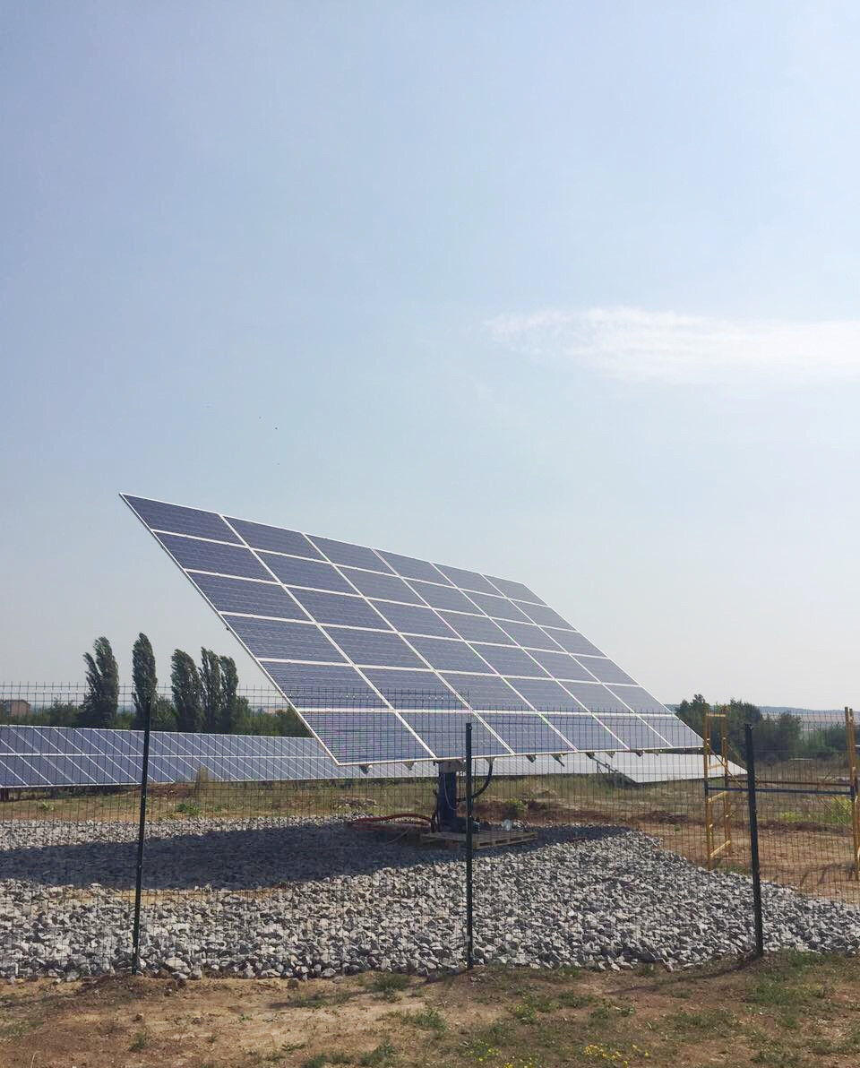Solar Trackers can increase you solar project efficiency up to 20 %