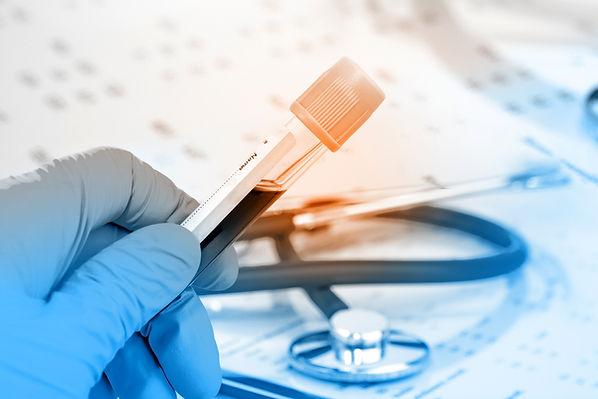 Teste de sangue
