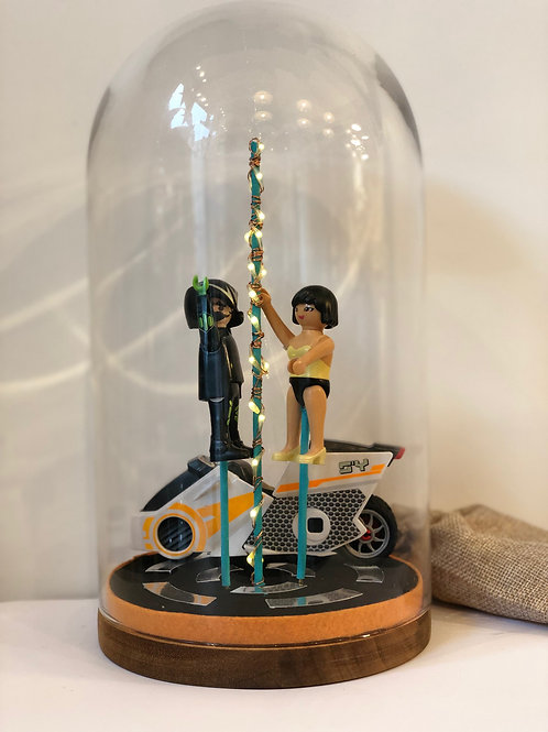 Lampe Playmobil - Tron