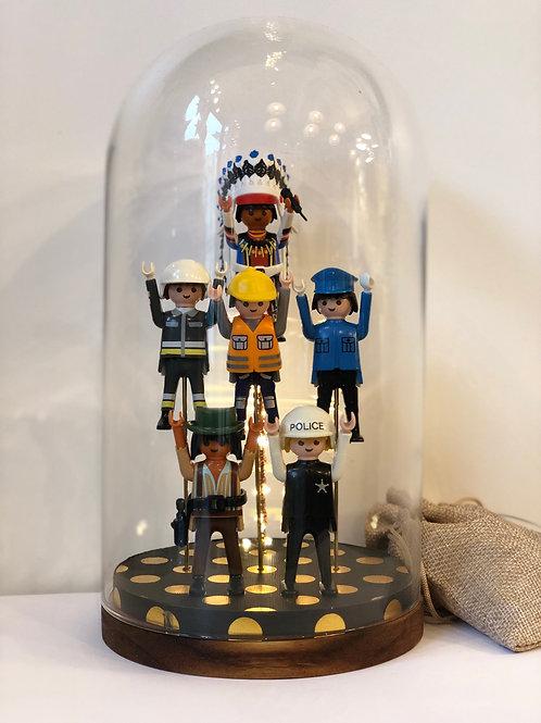 Lampe Playmobil - Village People