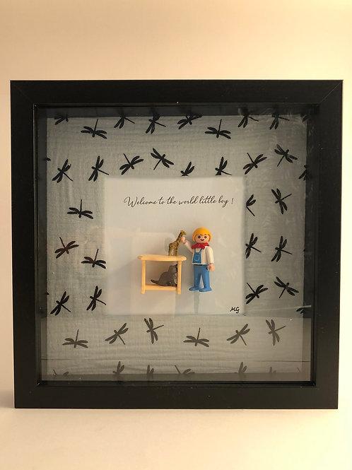 Cadre Playmobil -Welcome Little Boy