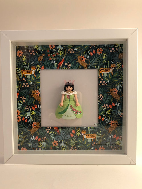 Cadre Playmobil - Jardin d'Eden