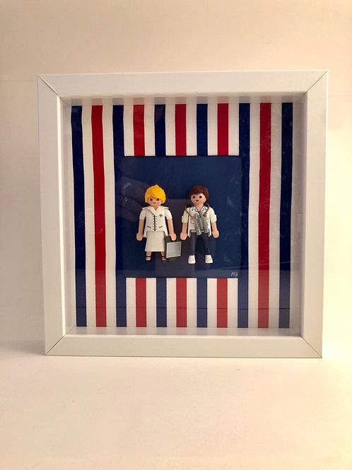 Cadre Playmobil- France