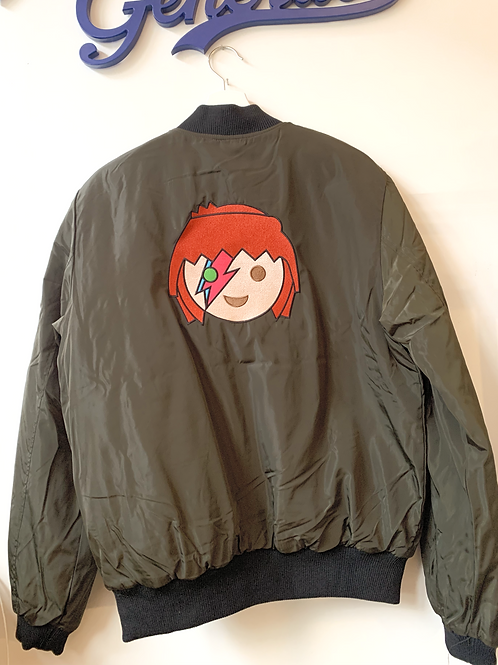 Bomber Adulte OH MY BOWIE