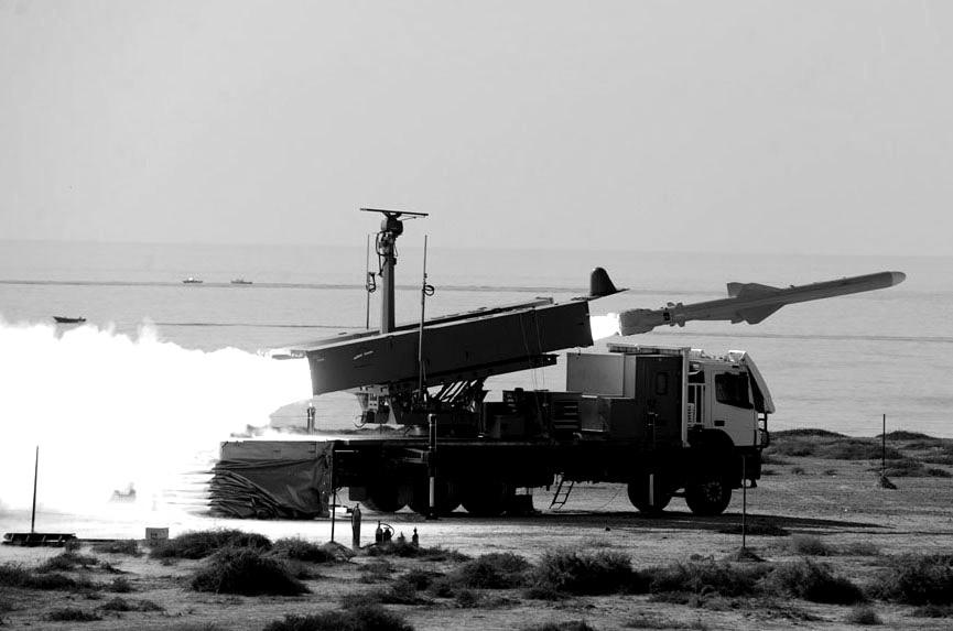Rakete vom Typ Qader
