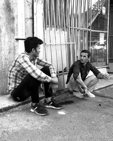 Marginalisierte Minderheit im Iran: Afghanen. Bild: TM