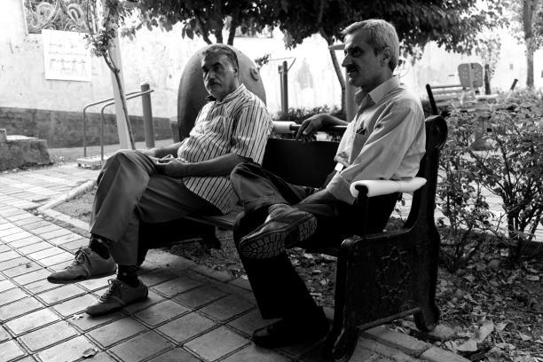 Irans Rentner müssen oft auch in der Pension arbeiten gehen. Bild: TM