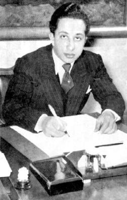 Faisal II. in klassischer Pose