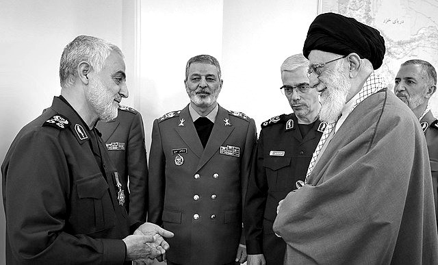 Soleimani (rechts). Bild: Khamenei.ir