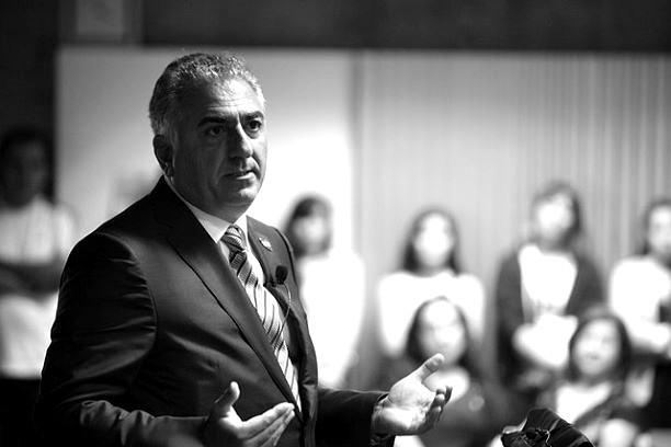 Sohn des letzten Schah und umtriebiger Redner im Ausland: Reza Pahlavi
