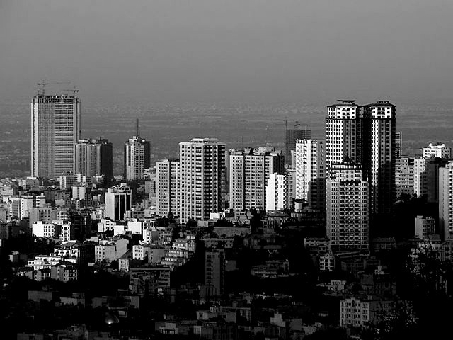 Skyline of Tehran, 2020