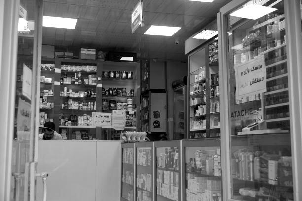 Masken und Desinfektionsmittel sind ausverkauft