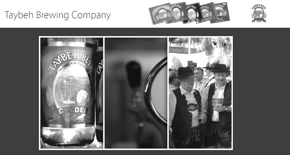 Bier, Tracht und Oktoberfest - und trotzdem Palästina (Webseite der Taybeh Brauerei)