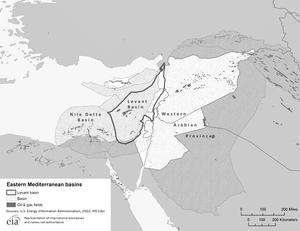 Das Levante-Becken: Umstritten und heiß begehrt