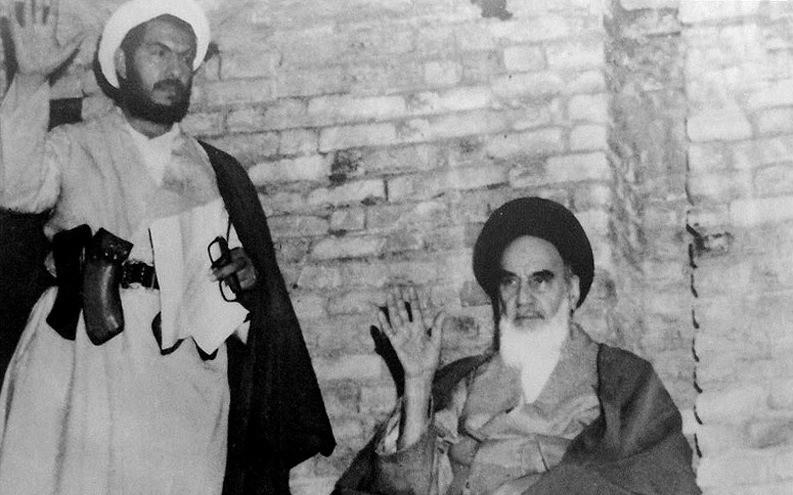 Khomenei (rechts): Gründer und Herrscher über die Islamische Republik
