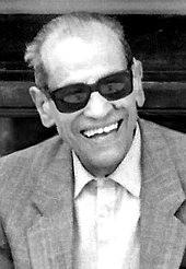 Nicht Ray Charles, aber mindestens genauso lässig: Nagib Mahfuz