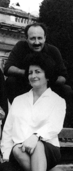 Generalsekretär Noureddin und Maryam Firouz