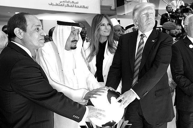 Demokraten unter sich: Al-Sisi, bin Salman und Trump
