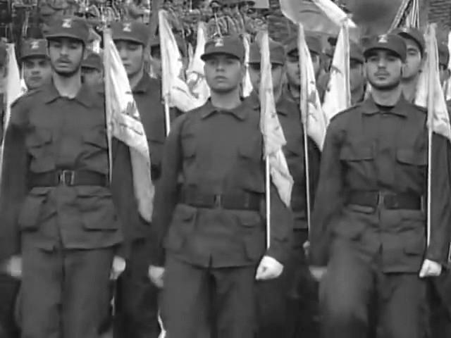 Hisbollah-Milizen im Libanon