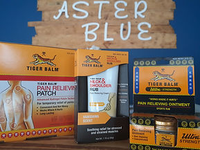 Tiger Balm Aster Blue Massage Float Well