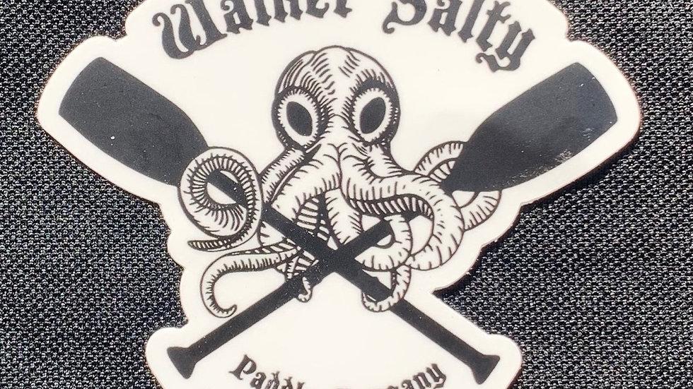 Original Walker Salty Paddle Company Sticker