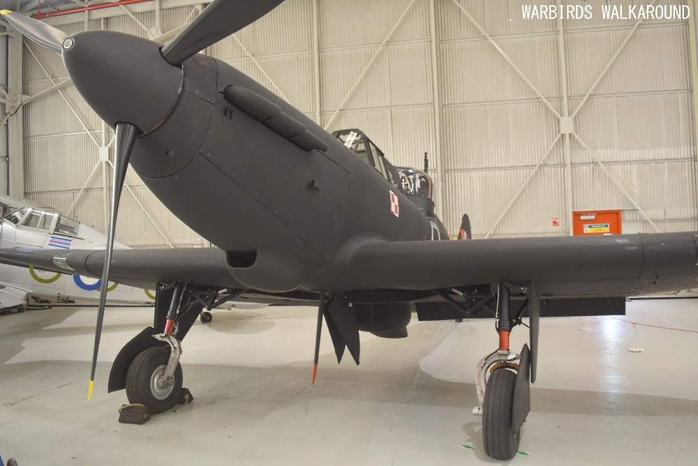 The last surviving Defiant, Mk.I N1671 at the RAF Museum, Cosford, Shropshire, England.