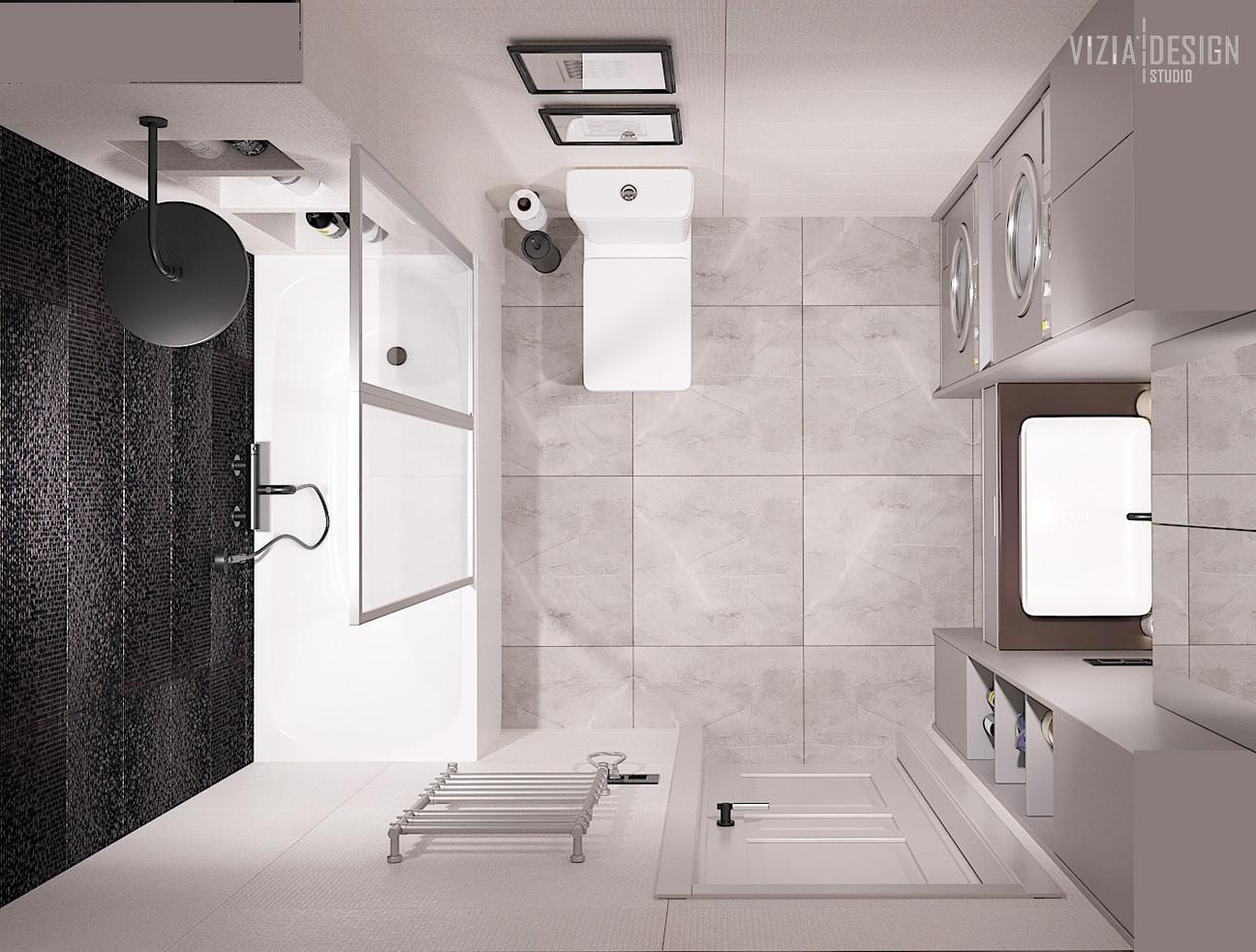 ванная с черно-белой плиткой.jpg