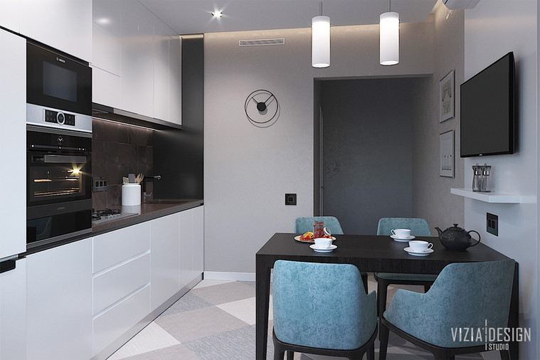Белая кухня с каменной столешницей.jpg