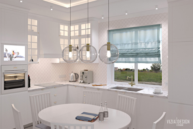 private house living with the kitchen sp