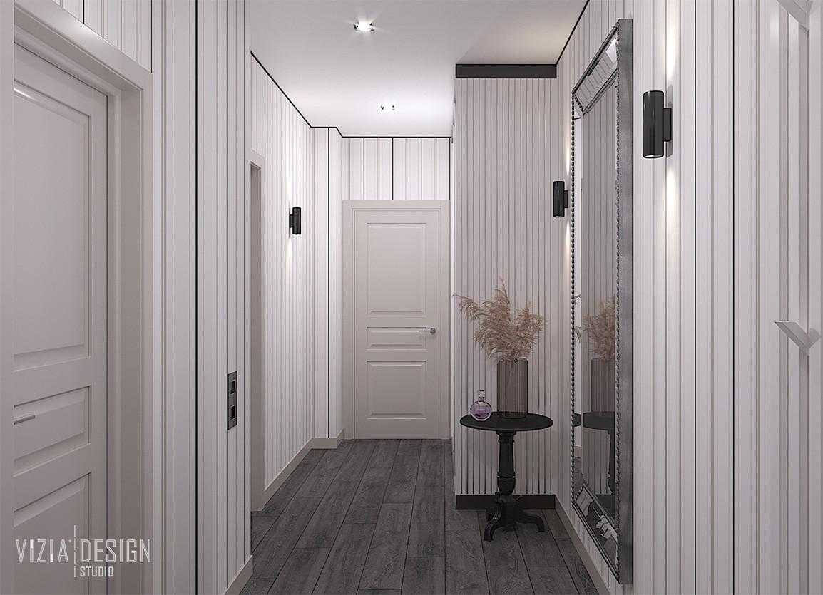 Прихожая в квартире с белым шкафом.jpg