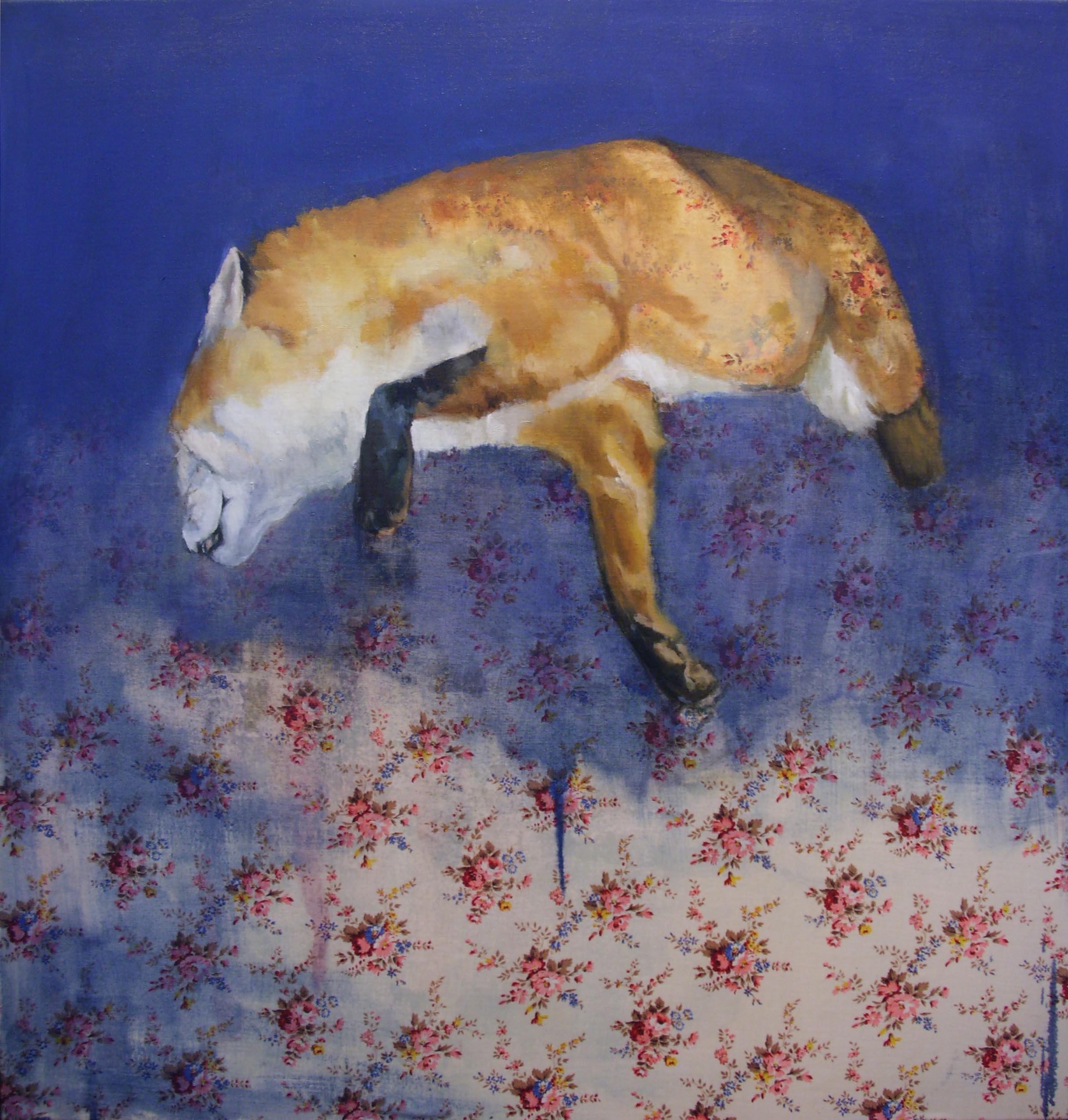 Un renard mort