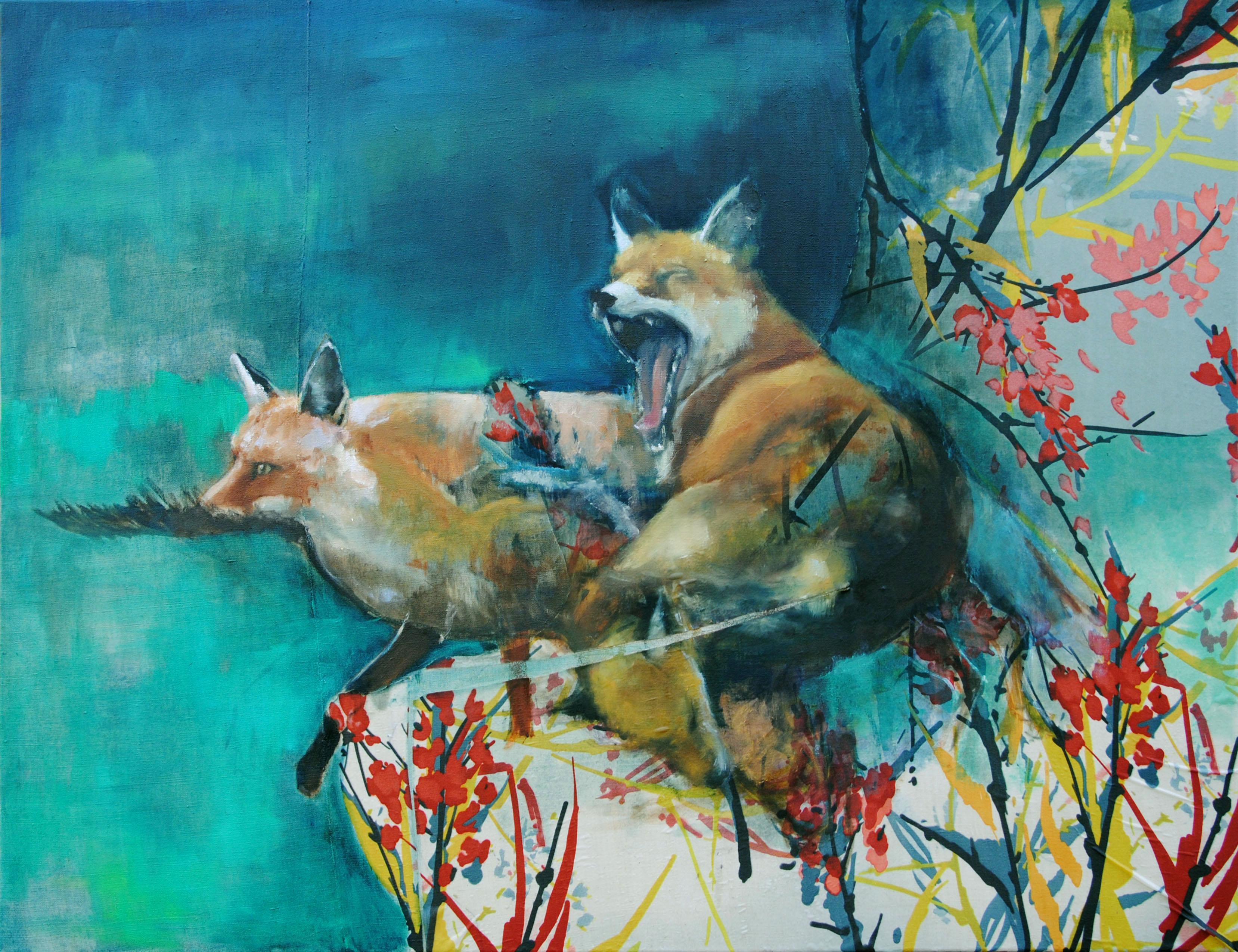 Trois renards