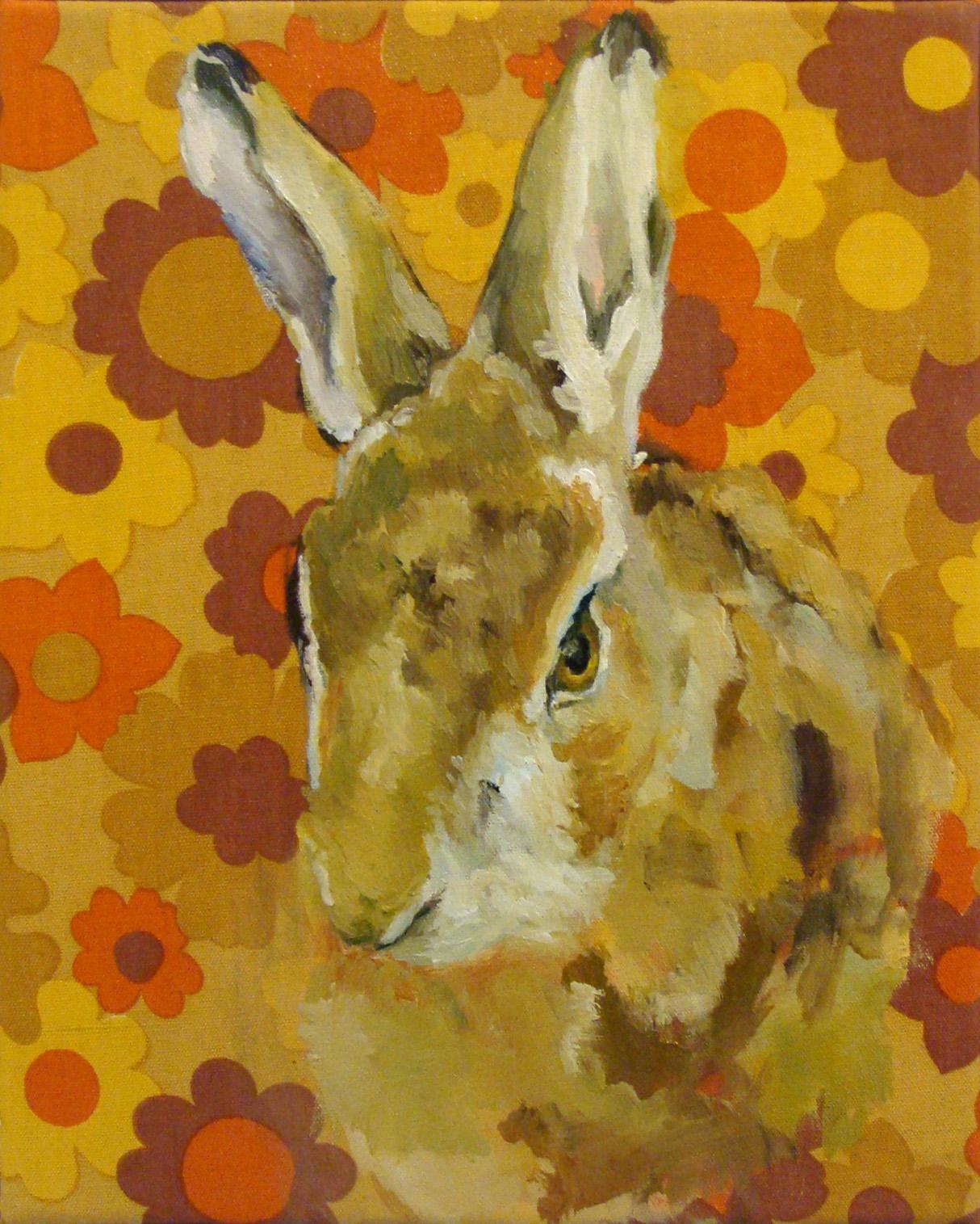 Portrait d'un lièvre