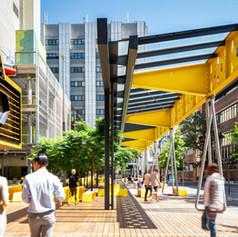 New Academic Street (NAS), RMIT University