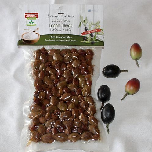 Grüne Oliven 200g