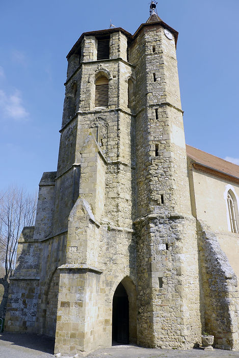 église saint sernin daumazan gothique et romane