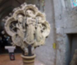 chemin de croix pierre de consécration église saint sernin daumazan