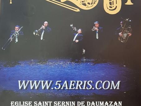 Mozart, Brassens, Western and Co.....      DIMANCHE 30 JUILLET à 17 heures